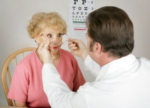 Elderly Eye Exams